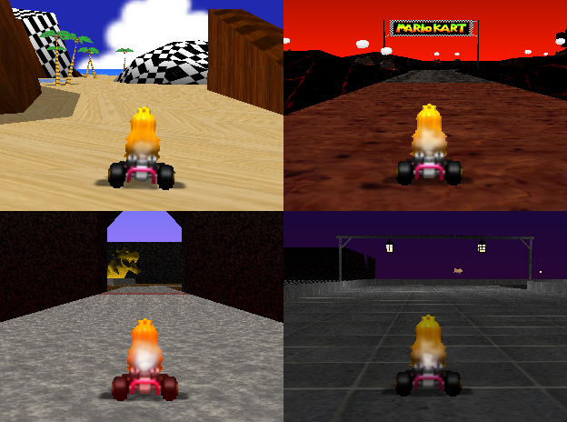 Mario Kart 64 Reloaded - Mario Kart 64 texture project