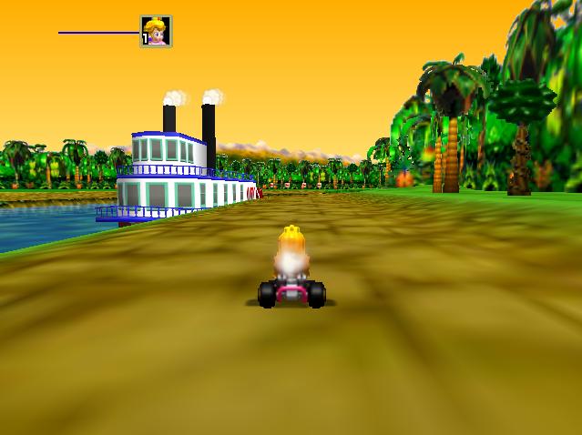 Mario Kart 64 Reloaded - Mario Kart 64 texture project